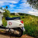 Découvrir la Toscane à bord d'un scooter