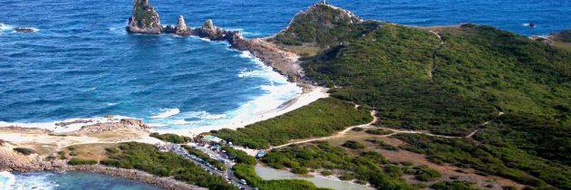 L'île de Grande-Terre de Guadeloupe, comme un petit coin de paradis