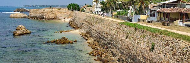 La ville fortifiée de Galle