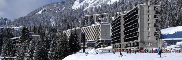 Flaine: station de ski authentique de Haute Savoie