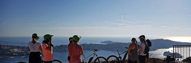Découverte de la Côte d'Azur en VTT-Electrique