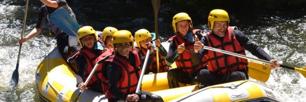 Devenir moniteur de rafting