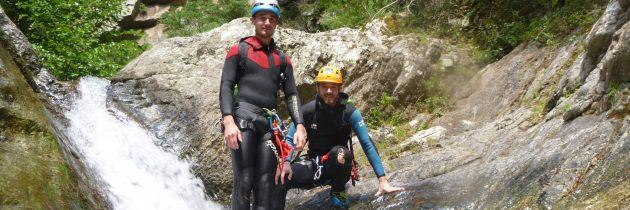 Le Canyoning dans les Pyrénées orientales