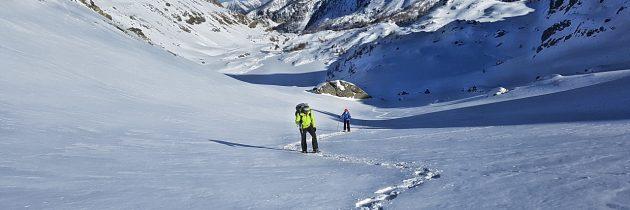 Trek en Raquettes à neige dans la Vallée des Merveilles
