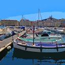 Un portrait de Marseille, une belle ville portuaire