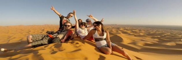 Voyage en famille au Maroc