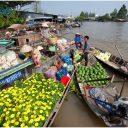 Visite le marché flottant de Cai Rang au delta du Mékong