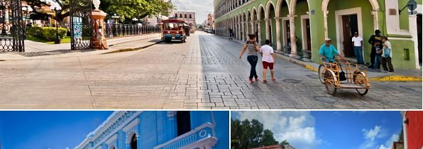 Découvrir les villes coloniales lors d'un voyage sur mesure au Mexique